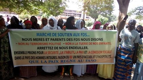 Bobo-Dioulasso : Des femmes ont marché pour dire non au « terrorisme politisé »