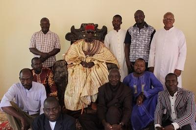Visite de proximité et présentation du projet REDIRE aux autorités coutumières et religieuses de la ville de Ouahigouya