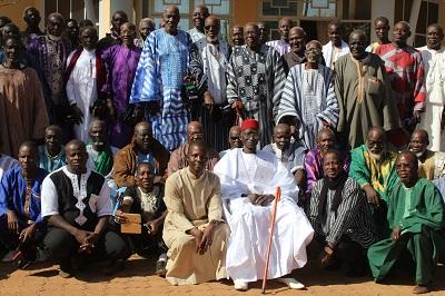 Atelier d'échanges et de réflexion avec les chefs coutumiers, les leaders religieux, représentants des communes sur la prévention et la gestion des conflits communautaires.