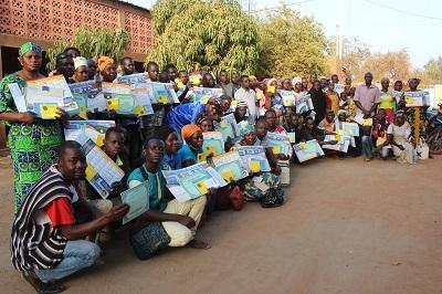 Renforcement des capacités des jeunes et des femmes des Club d'écoute et de Dialogue (CED)du CDC