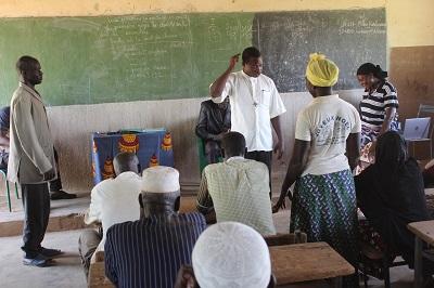 Atelier de formation et de réflexion sur la cohésion sociale et le vivre ensemble dans le village de Ramsa