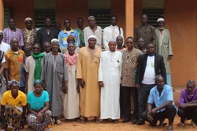 Atelier de formation et de réflexion sur la cohésion sociale et le vivre ensemble dans le village de Tougou