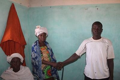 Une Initiative Communautaire de Paix: Deux frères se sont réconciliés à Kalo