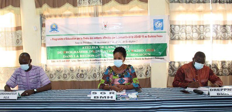 Le Programme d'Education par le Radio s'étend désormais dans les régions de l'Est et de la Boucle du Mouhoun